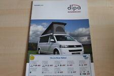101868) VW Bus T5 Wohnmobil - dipa - Prospekt 2012