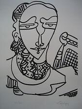 LAPICQUE Charles - Lithographie lithograph signée numérotée Fortunio 1967 ++