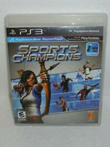 Sports-Champions-PS3-Sony-Playstation-3-Video-Game-2010-Mint-Disc-W-Manual-Book