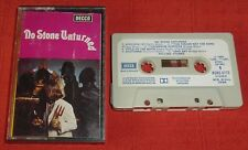 ROLLING STONES - RARE UK CASSETTE TAPE - NO STONE UNTURNED -  PAPER LABELS