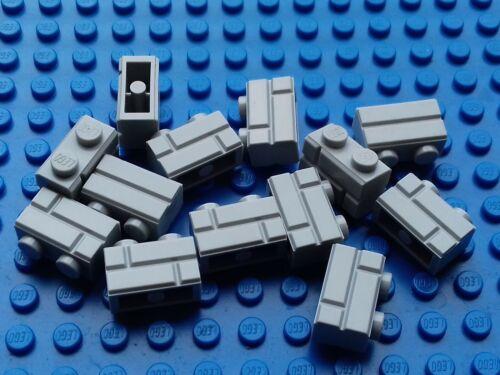 NEW LEGO CITY BATMAN DISNEY 50 x LIGHT BLUISH GREY 1x2 MASONRY BRICKS 98283