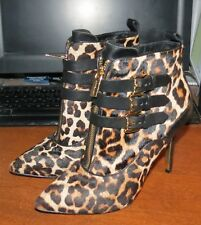 14d98e626e1 item 2 Michael Kors Pointed Toe Booties - Brena Leopard Print High Heel sz  6 M EUC! -Michael Kors Pointed Toe Booties - Brena Leopard Print High Heel  sz 6 M ...