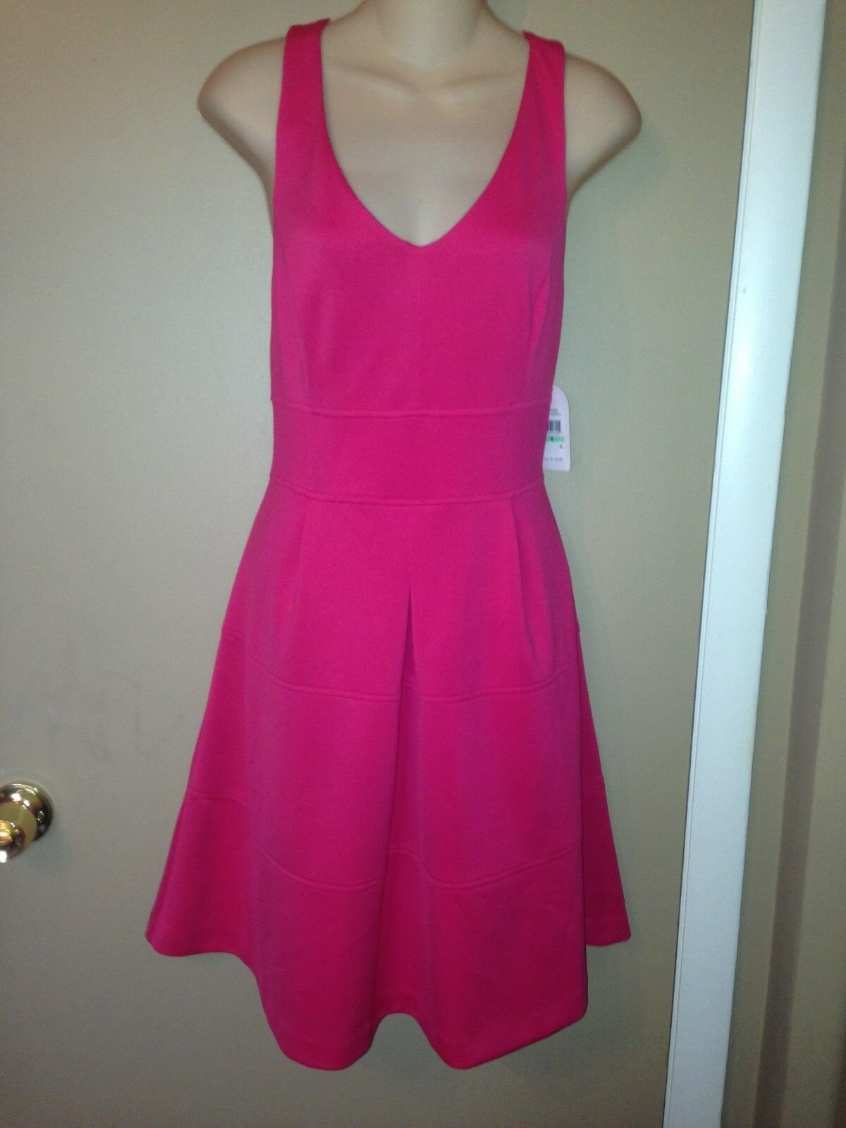 JESSICA SIMPSON LADIES PINK DRESS SIZE 8, NEW WITH TAG