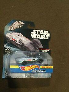 Star-Wars-Hot-Wheels-Car-Ships-Millennium-Falcon-NEW-MIP