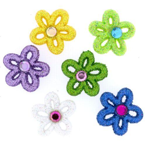 RAZZLE DAZZLE DAISY 4693 Sew Craft Flowers Jesse James Buttons Dress It Up