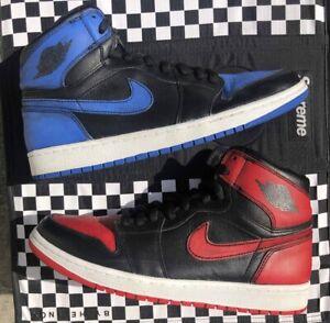 """18e6a4611e5b Nike SB x Air Jordan 1 I Retro """"Lance Mountain"""" Black Sz. 11 Lakers ..."""