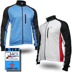 Warm-Showerproof-Windproof-Cycling-Jacket-Fleece-Lined-for-road-amp-mountain-bike