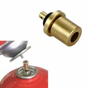 Outdoor-Kocher-Gasflaschen-Flasche-Refill-Adapter-Nachfuellung-Neu-Camping-P-E2V6