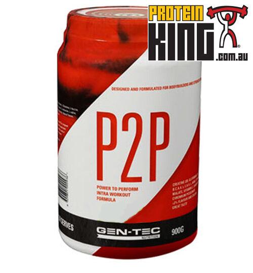 GENTEC P2P INTRA WORKOUT 900G FRESH APPLE BCAA AMINOS RECOVERY BCAAS BPI GEN TEC