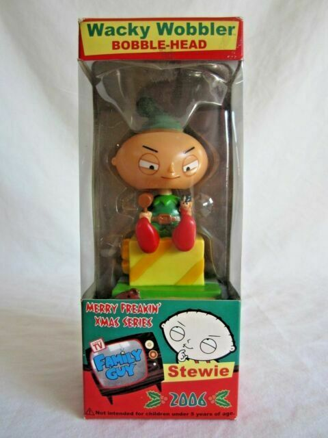 Stewie Wacky Wobbler Bobble Head FUNKO Family Guy