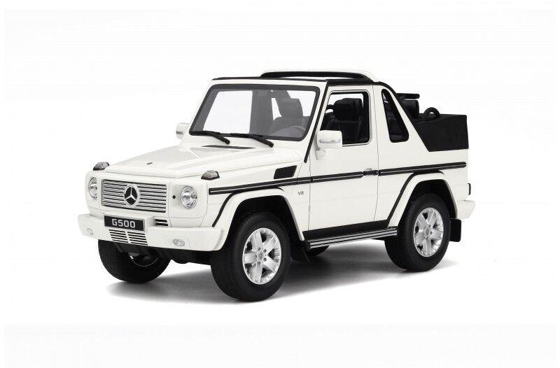 ahorrar en el despacho Mercedes Benz Benz Benz Clase G Cabrio 2007 Coche Miniatura 1 18 Colección Ot 275  increíbles descuentos
