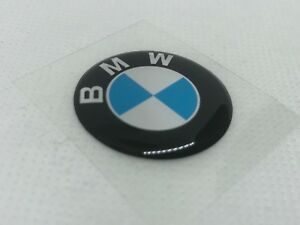 2-pcs-BMW-logo-badge-sticker-30mm-Domed-3D-Stickers-Decals
