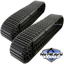 Two Rubber Tracks For Cat 277d 287d 297d 3258625 325 8625 Oem Tread 18x4cx51