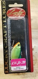 LUCKY CRAFT LV-JR.70 LIPLESS CRANKBAIT LURE IN NISHIKI or clown color