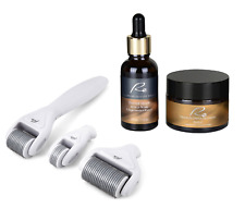 Re Derma Roller 3pcs Set+Retinol Regeneration Boost Face Serum(30mL)+Cream(50mL)