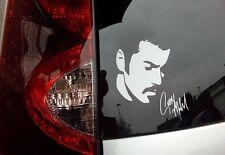 "George Michael signed signature Vinyl decal sticker 6"" x 6"" car"