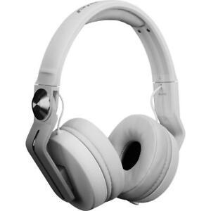 PIONEER-HDJ-700-W-cuffia-cuffie-headphones-professionali-pieghevoli-per-dj-NUOVE