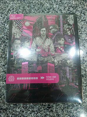 Drive Blu-ray Steelbook Mondo X #000 Tyler Stout Futureshop Canada SLASHED SPINE