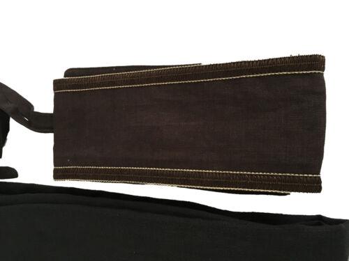 avec Rinaldi coton noir femme Marina en Moro By Persona ceinture Pantalon YxAHO1w