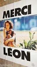 LEON ! luc besson affiche cinema modele natalie portman