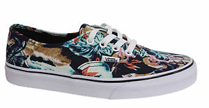 8596138779c7 Vans Off The Wall Authentic Tropical Lace Unisex Trainers Plimsolls ...