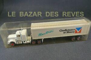 MAJORETTE-FRANCE-Camion-KENWORTH-promotionnel-034-CHAFFOTEAUX-ET-MAURY-034-Boite