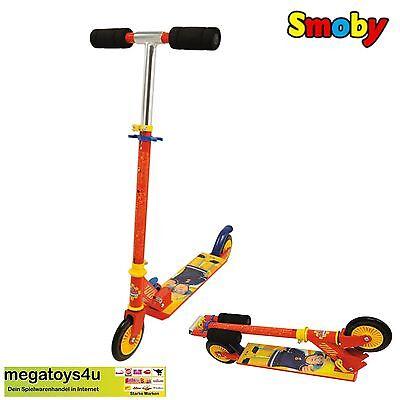 Neu & Ovp * Feuerwehrmann Sam Roller Mit Bremse Klappbar Clever Smoby 7600450153