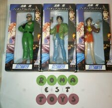 City Hunter set completo 3 figure in scatola rarissimo Tsukasa Hojo