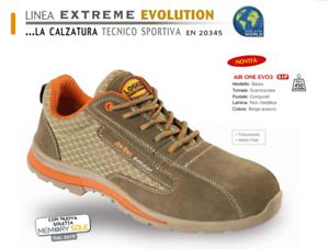Dettagli su Scarpa da lavoro antinfortunistica safety shoes