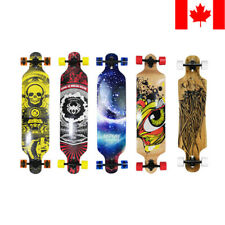 "PHAT® Pro 41"" X 9.5"" Longboard Skateboard Cruiser Through downhill Complete Gift"