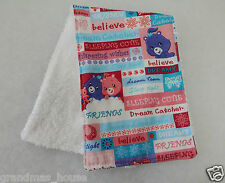 Care Bears - Dream Time Burp Cloth - 1 Only Towelling Back GREAT GIFT IDEA!!