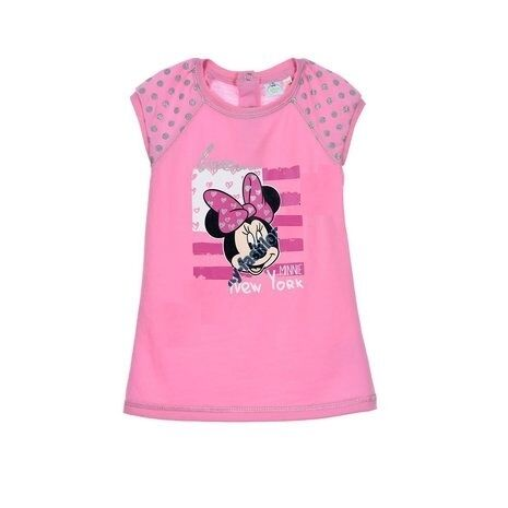 Minnie Mouse Kleid Baby 68 74 80 86 Disney Tunika Kinderkleid Kleidchen Maus Neu