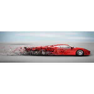 Red-Sports-Car-Diamond-Painting-Full-Drill-5D-DIY-Kit-Home-Wall-Decor-80-30CM