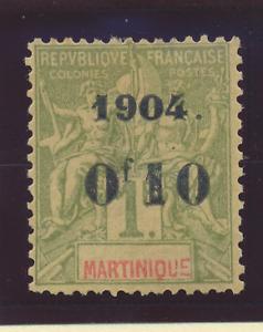 Martinique Stamp Scott #60, Mint Hinged