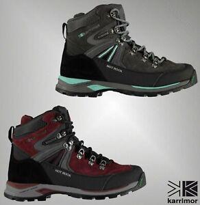 Ladies-Karrimor-Waterproof-Breathable-Lace-Up-Hot-Rock-Walking-Boots-Size-UK-4-8