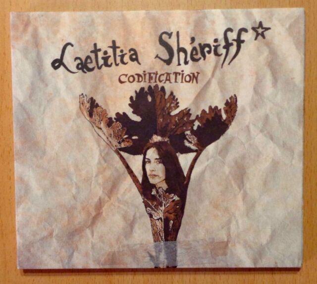 CD ALBUM / CODIFICATION - SHERIFF LAETITIA (CD DIGIPACK) DISQUES WAH WAH