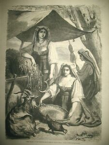 ITALIE-FIENAROLLES-NOTRE-DAME-DE-PARIS-Mgr-MORLOT-GRECE-COSTUMES-GRAVURES-1863