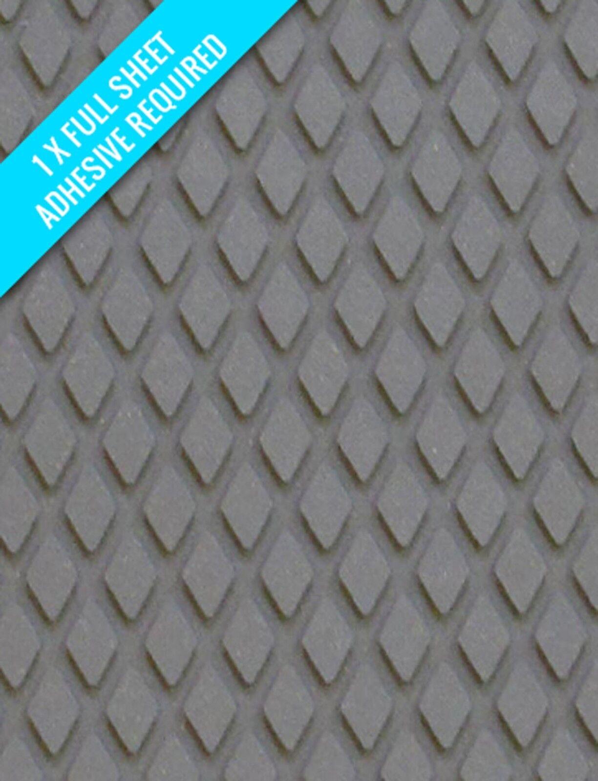Treadmaster Diamante Entablado Slip rojoucción Sheet, Barco Tablas 1200mm X 900mm
