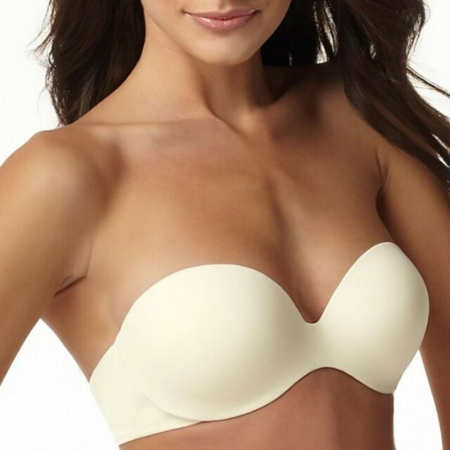518376fe85 NWT Warners This is Not a Strapless Bra 36C Ivory Bra 01693  41731