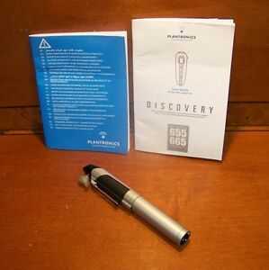 plantronics discovery 640 wireless bluetooth in ear pen headset w rh ebay com Plantronics Wireless Headset Plantronics Wireless Headset
