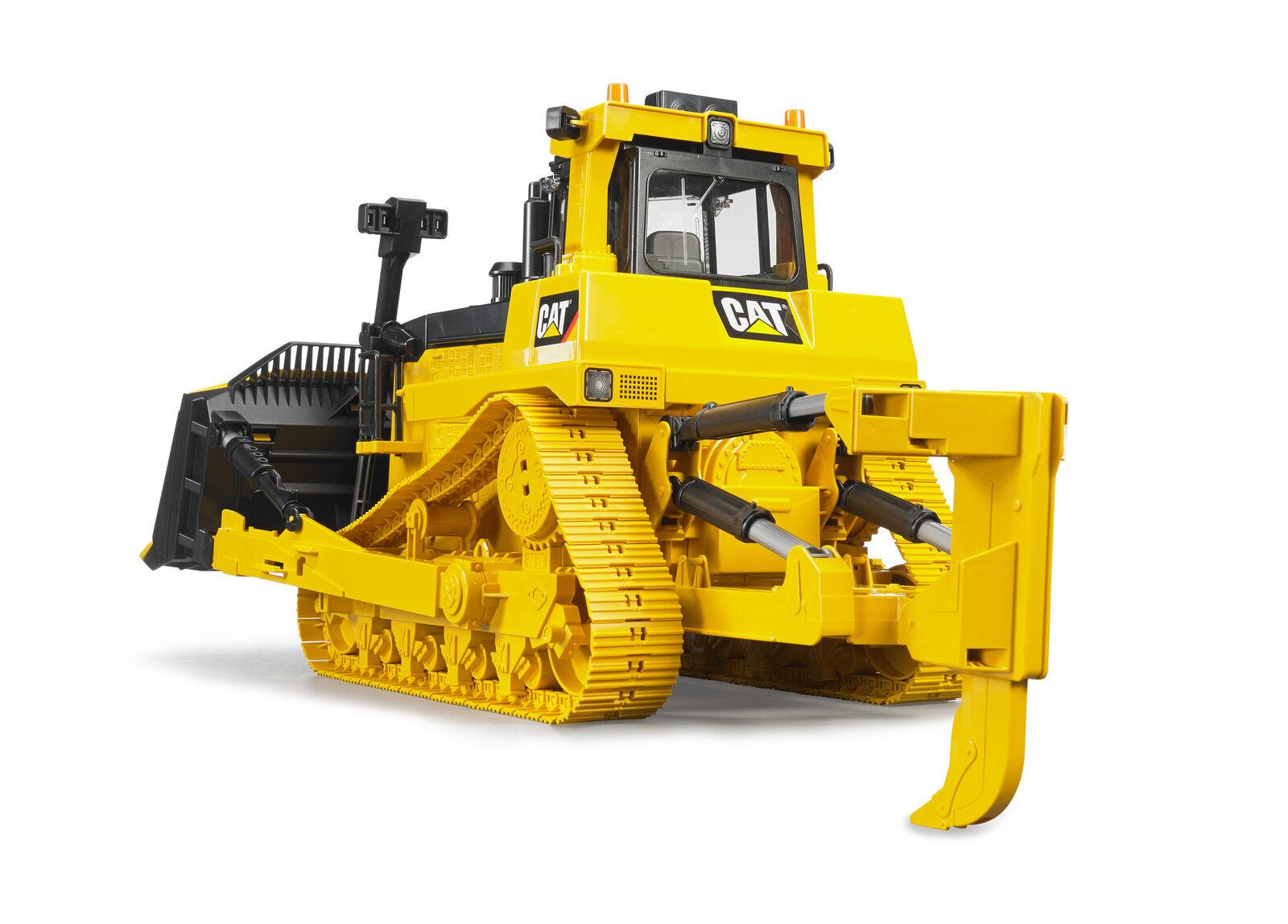 54 cm 5047142 Neu BRUDER 02452 CAT großer Kettendozer Spielzeugautos