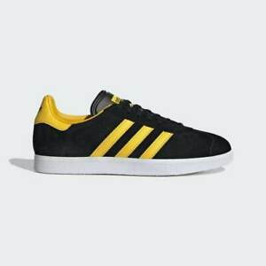 Gold Yellow Trainers Suede Shoes
