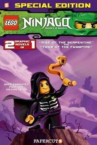 Ninjago: Lego Ninjago Special Edition #2 : With Rise of the Serpentine and  Tomb of the Fangpyre 2 by Paul Lee and Greg Farshtey (2013, Paperback)