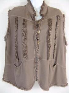 Argile Tienda Sikat Ho léger ~ ~ Poids Gilet super Coton ~ ~ chaude marocain ~ ~ doux duveteux 4AEAUxwqp
