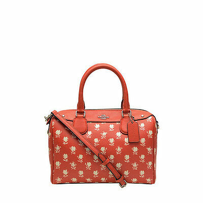 NWT Coach Badlands Floral Bennett  Satchel Handbag in Carmine Multi F 38160 $295