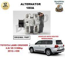 FOR 27060-51030 2706051030 NEW ORIGINAL TOYOTA 180A ALTERNATOR UNIT
