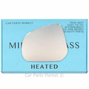 /> Aile Miroir Verre Chauffé O//S Drivers Cote Droit FORD TRANSIT CUSTOM 2012