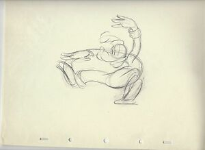 LONESOME-GHOSTS-GOOFY-ORIGINAL-ANIMATION-PRODUCTION-DRAWING-1937-RARE