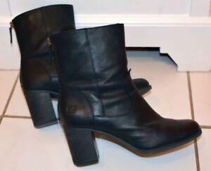 Details zu TIMBERLAND Atlantic Heights Mid Stiefeletten, Boots, schwarz Gr. 40 UK 7 Stiefel