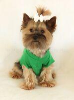 M Bright Green Short Sleeved Dog T - Shirt Clothes Pet Clothing Medium Pc Dog®